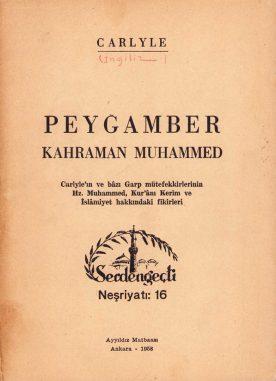 Thomas Carlyle | Peygamber Kahraman Muhammed