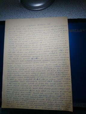 Mehmet Kutlular'dan mektup var